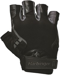 Harbinger Pro - Wash & Dry 2 Fitness Handschoenen - Black - XL