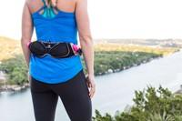 Fuelbelt Women's Helium Ergo Belt - Black/Pink-2
