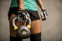 Harbinger Womens Flexfit Gloves White Lifestyle 3