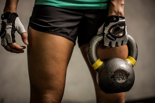Harbinger Womens Flexfit Gloves White Lifestyle