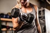 Harbinger Women's Flexfit Open Finger Fitness handschoenen - White-3