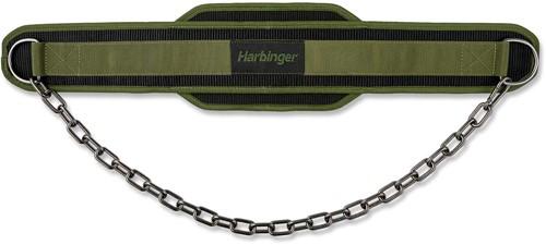 Harbinger Polypro Dip Belt - Gunmetal - Groen