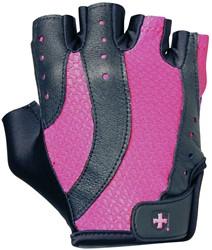 Harbinger Womens pro wash & dry 2 fitness handschoenen (black/pink) - S
