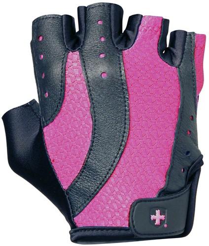Harbinger Womens pro wash & dry 2 Fitness Handschoenen -  Black Pink