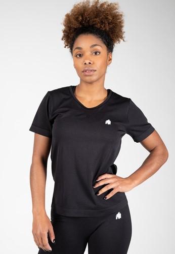 Gorilla Wear Neiro Seamless T-Shirt - Zwart