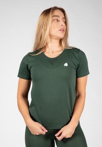 Gorilla Wear Neiro Seamless T-Shirt - Legergroen