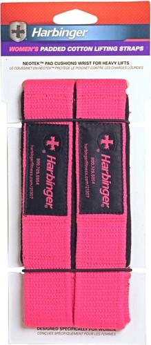 Harbinger Padded lifting strap roze-2