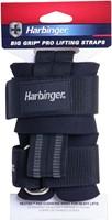 Harbinger Pro Padded Lifting Straps - met Stalen Gesp-3