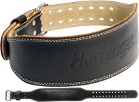 Harbinger 4 Inch Padded Leather Belt