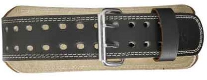 Harbinger 4 Inch Padded Leather Belt-3