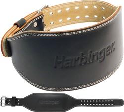 Harbinger 6 Inch Padded Leather Belt - L