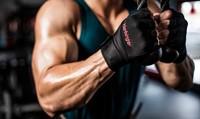 harbinger pro wristwrap fitnesshandschoenen triceps