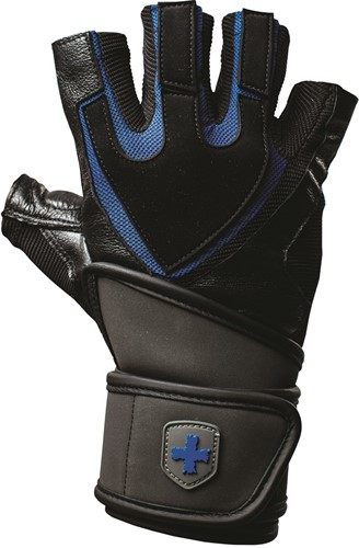 Harbinger Training Grip Fitness Handschoenen Black/Blue-3