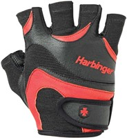 Harbinger FlexFit Wash&Dry Fitness Handschoenen Black/Red-2