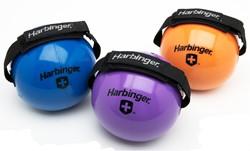Harbinger Fitnessbal met Velcro binding om hand - 10 lb