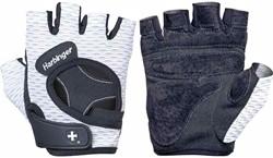 Harbinger Women's Flexfit Open Finger Fitnesshandschoenen White - M
