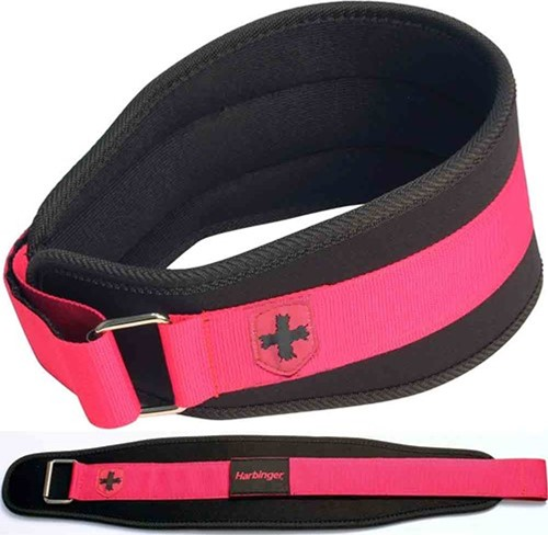 Harbinger Womens FirmFit Foam Core Nylon Belt