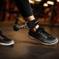 Harbinger Neoprene Padded Ankle Cuff /  Enkel Strap-3