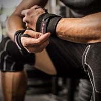 Harbinger Pro Thumb Loop Wrist Wrap lifestyle