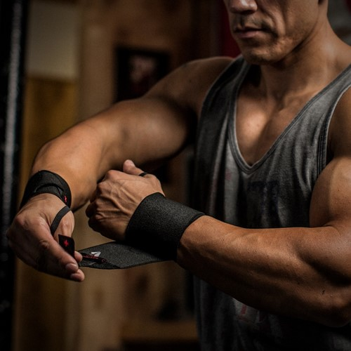Harbinger Pro Thumb Loop Wrist Wrap-2