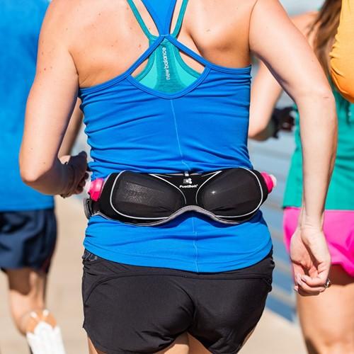 Fuelbelt Women's Helium Ergo Belt - Black/Pink-3