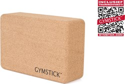 Gymstick Yoga Block Cork - Met Online Trainingsvideo's