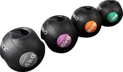 Gymstick medicijnbal met handvaten 4 kg - Met Trainingsvideo's