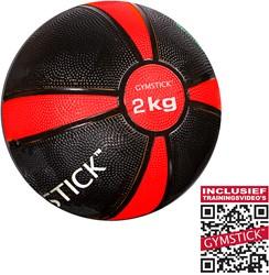 Gymstick Medicijnbal - Met trainingsvideo's - 2 kg