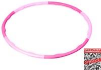 Gymstick roze hoela hoep 0.75 kg - Met Trainingsvideo