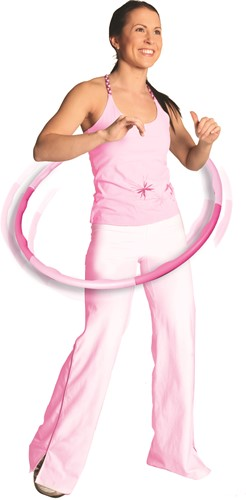 Gymstick roze hoela hoep 0.75 kg - Met Trainingsvideo's-2
