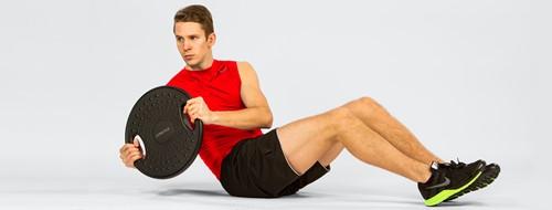 Gymstick Powerboard - Balance Board 3.5 kg - Met Online Trainingsvideo's-3