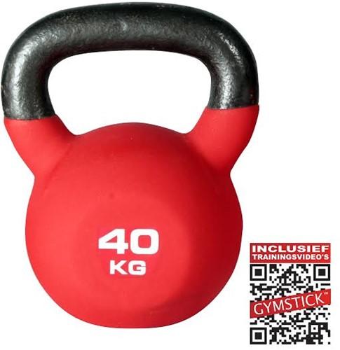 Kettlebell Pro 40 Kg Neopreen Met Trainingsvideo