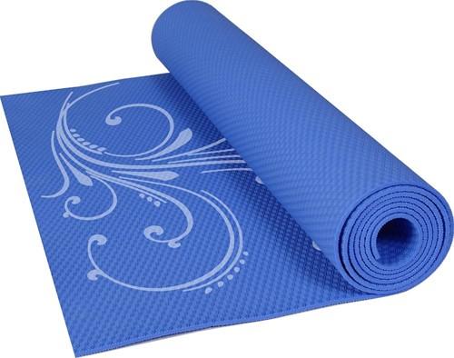 Gymstick blauwe fitness mat