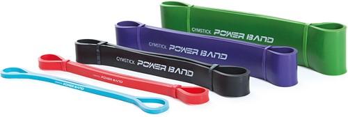 Gymstick Mini Power Band, Medium (zwart) - Met Online Trainingsvideo