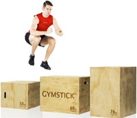 Gymstick Houten Plyo Box 3-in-1-2