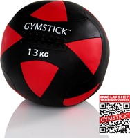Gymstick Wallball Met Trainingsvideos - 13 kg