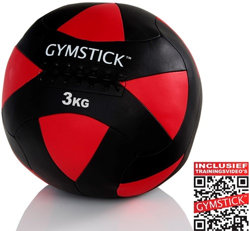 Gymstick Wallball Met Trainingsvideos - 3 kg