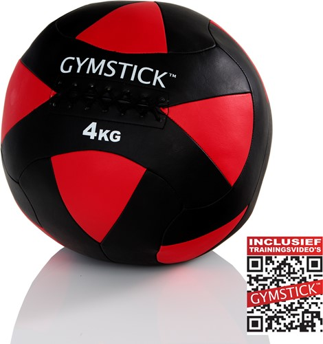 Gymstick Wallball Met Trainingsvideos - 4 kg