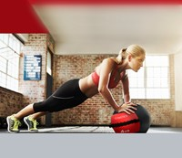 Gymstick Wallball Met Trainingsvideos - 7 kg