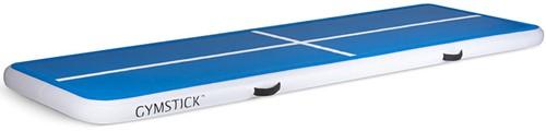 Gymstick Air Track - Opblaasbare Gymnastiek Mat - Blauw/Wit
