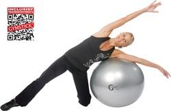 Gymstick Burst resistant gymbal met trainingsvideo's - 65 cm