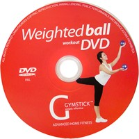 Gymstick yoga ballen 2x 1kg met work- out DVD