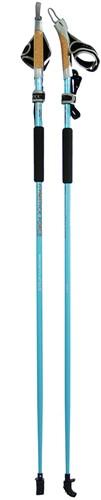Gymstick force Nordic Walking stokken met DVD - 130 cm