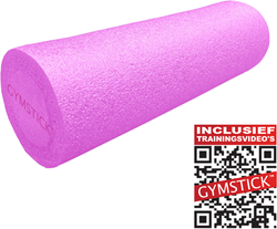 Gymstick Emotion Foam Roller - Met Trainingsvideo's