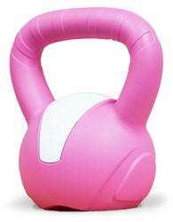 Gymstick Emotion Vinyl Kettlebell 8 kg - Met Trainingsvideo's
