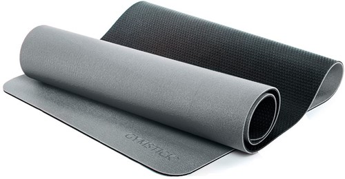 Gymstick Pro Yoga Mat - Met Online Trainingsvideo's - Grey/Black