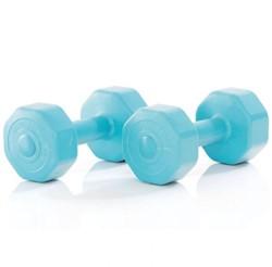 Gymstick Active Vinyl Dumbells - Met Online Trainingsvideo's - 2 x 3 kg