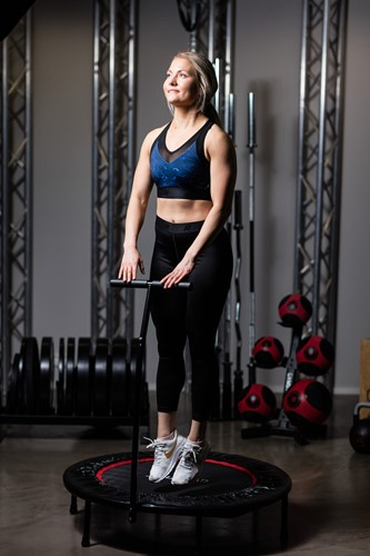Gymstick Opklapbare Fitness Trampoline sfeerafbeelding 1