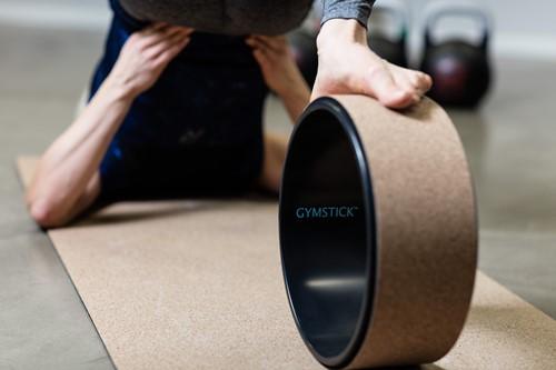 Gymstick Active Yoga Wheel Kurk-3