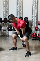 Gymstick Pro Neopreen Kettlebell - Zwart - Met Online Trainingsvideo's - 10kg-3